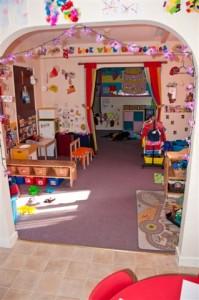 Tiny Town Nursery baby room